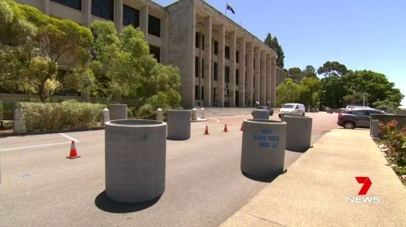 Extra layer of security installed at state parliament
