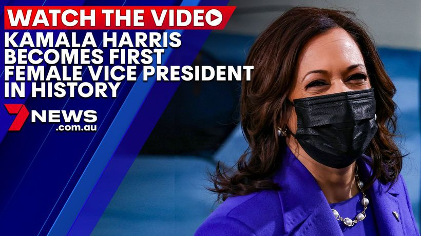 Kamala Harris becomes the first female Vice President in history