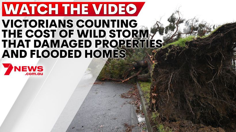 Victorians counting the cost of wild storm that damaged properties and flooded homes