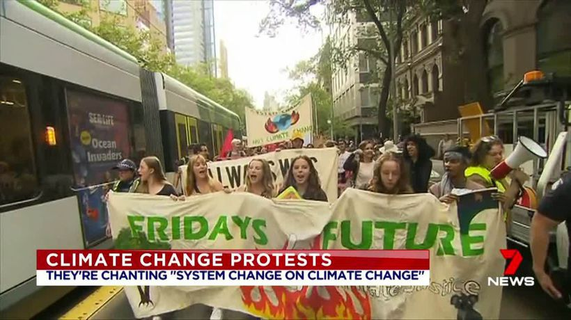 Climate protesters target Australian Open