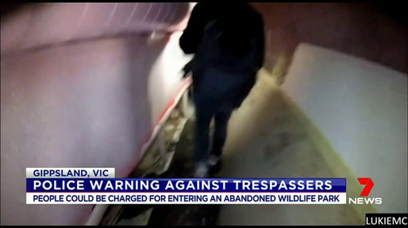 Police warning against trespassers