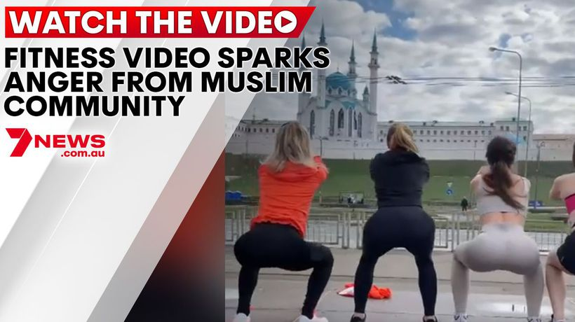 Fitness video sparks anger from Muslim community