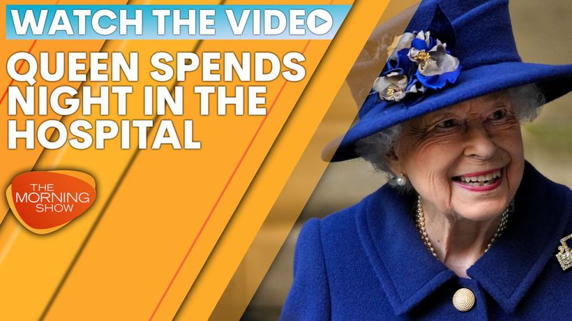 Queen spends night in the hospital