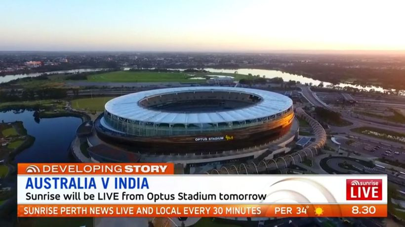 Countdown on to first test match at Optus Stadium