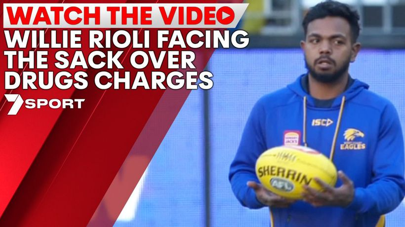 Willie Rioli facing the sack over drugs charges