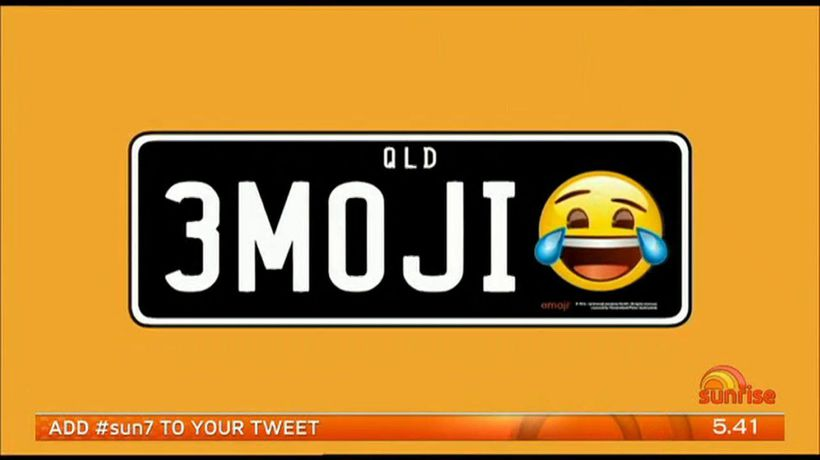 Emoji number plates on the way