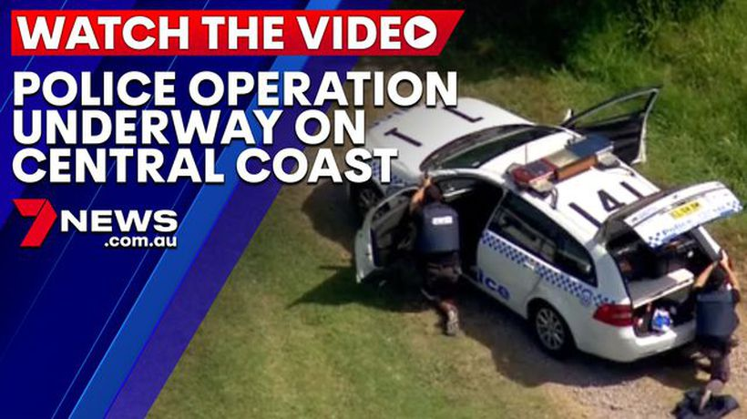 Police operation underway on the Central Coast