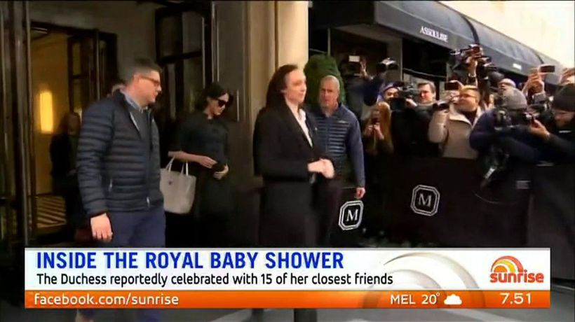 Inside the royal baby shower