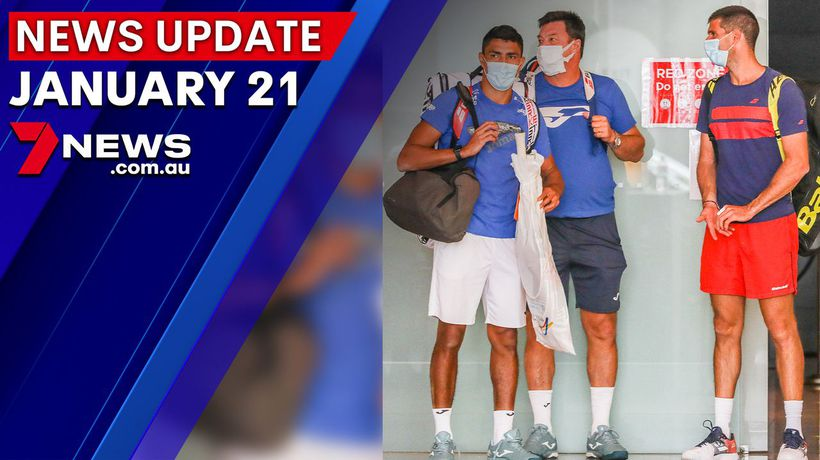 7NEWS Update: January 21