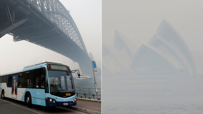 Sydney Air Quality At Record Lows