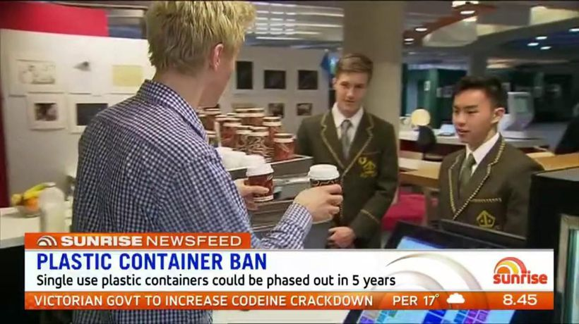 Single use plastic containers could be phased out by 2023