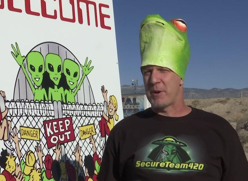 Earthlings descend on Area 51 for aliens, parties