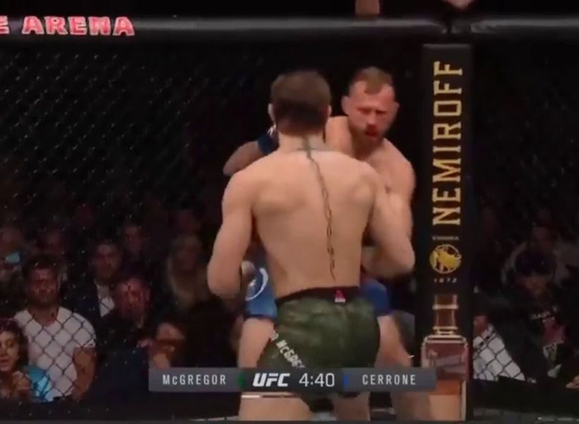Conor McGregor defeats Cowboy Cerrone