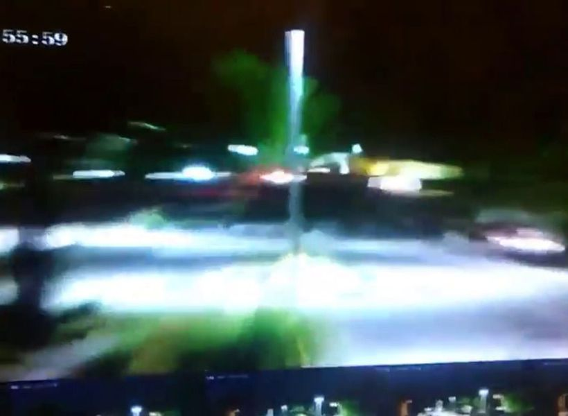 Bizarre UFO footage made public after security guard left in shock