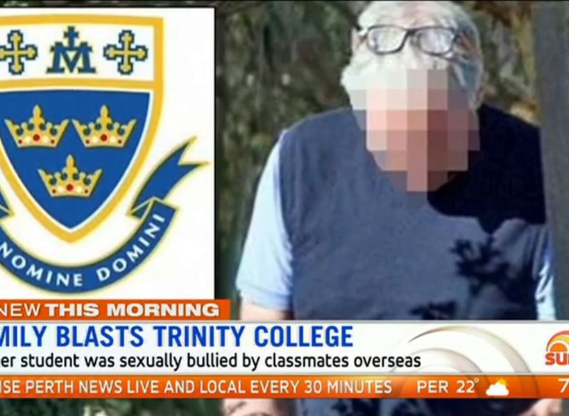 Family blasts Trinity College