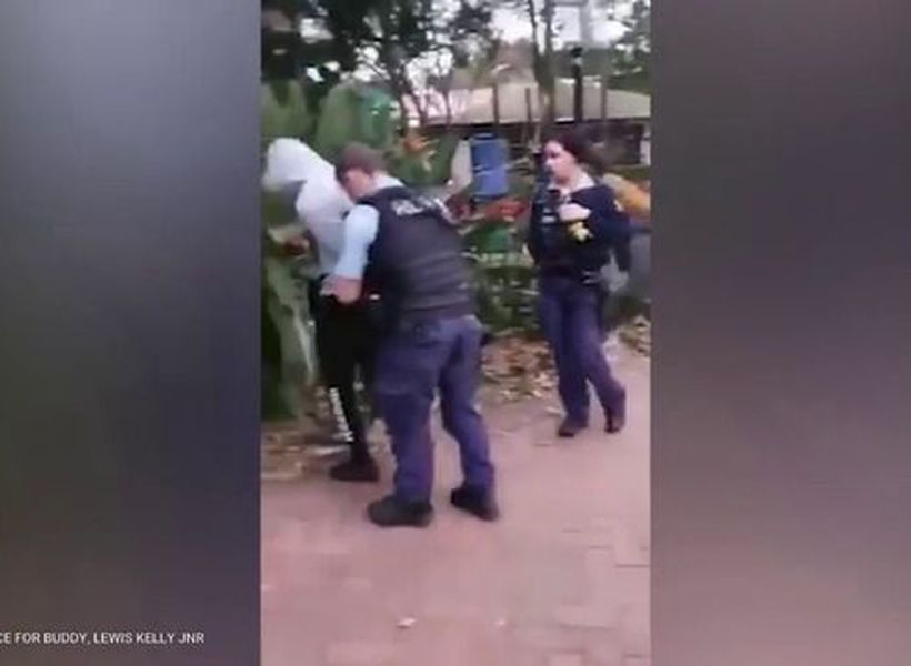 Police officer using excessive force on a 16 year old