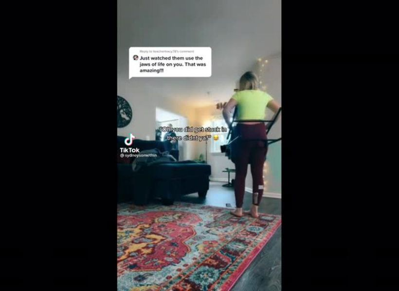 Firefighters called to rescue woman after fetish video goes wrong