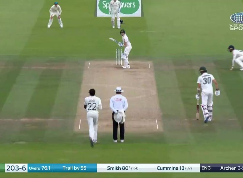 Steve Smith floored