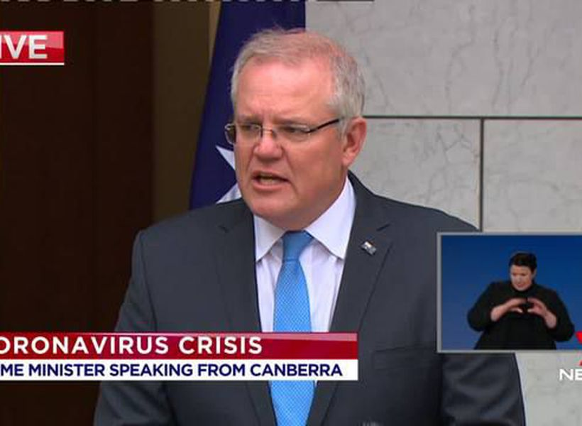 Prime Minister comments on Victoria's second lockdown