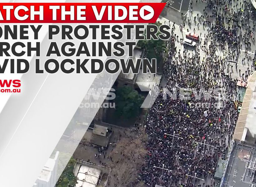 Sydney protesters march against lockdown