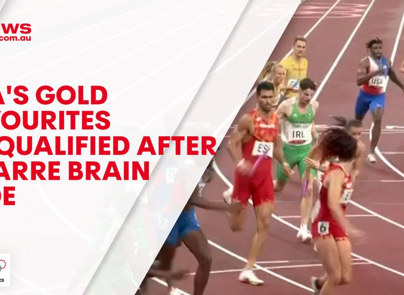 USA's gold favourites disqualified after bizarre brain fade