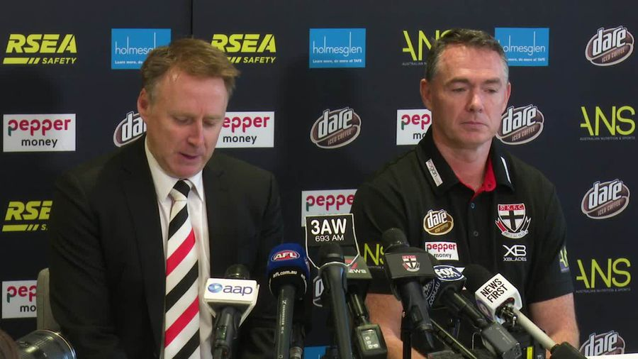 Alan Richardson explains why he had to leave the Saints with six games left in the season
