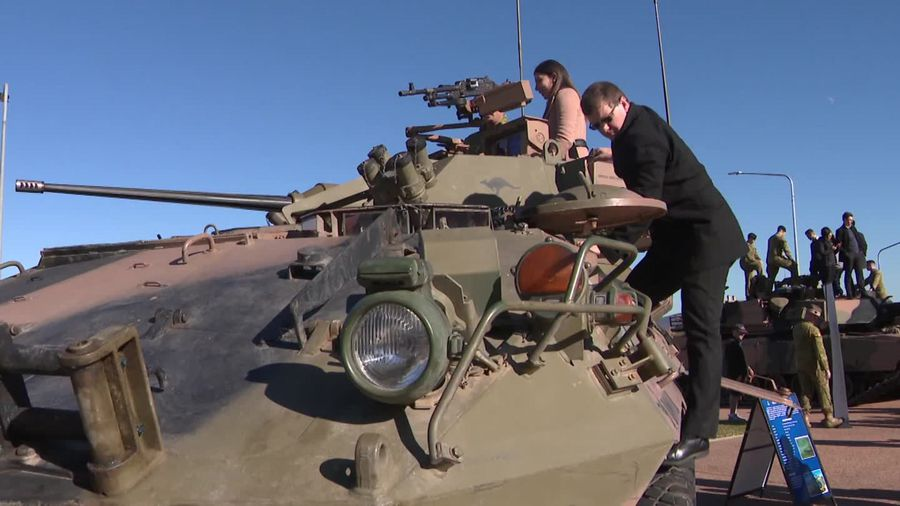 Army demonstration day in Canberra showcases robotics