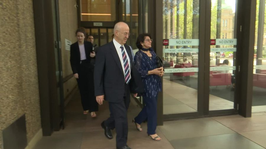 Eddie Obeid leaves Sydney court