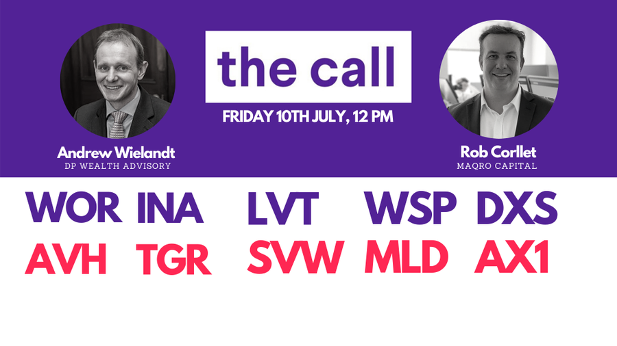 The Call: Friday 10th July