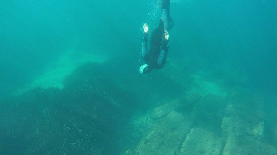 Exploring the watery remains of France's sunken Roman port