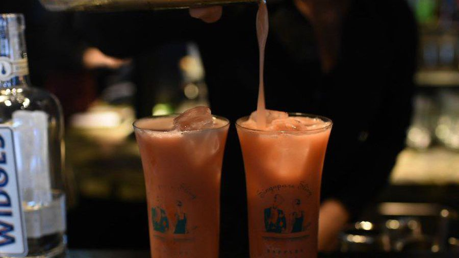 Singapore Sling cocktail refreshed for a new generation