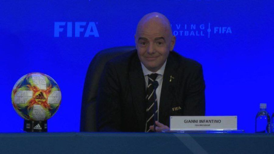 Football: FIFA recommends increasing 2022 World Cup to 48 teams