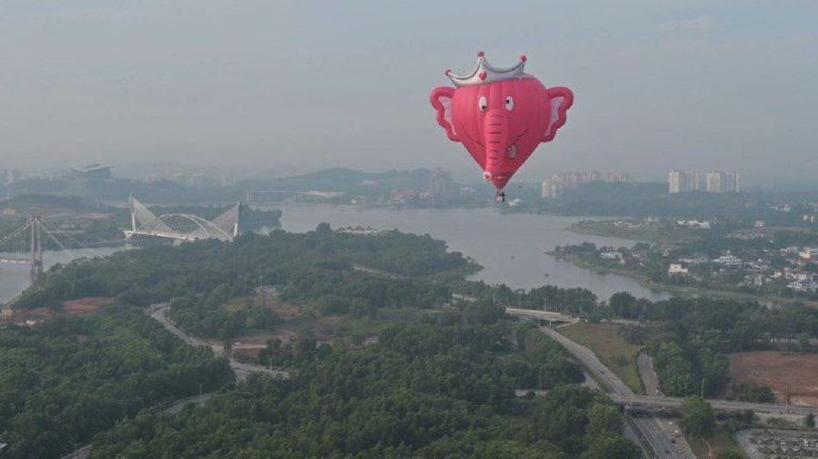 International hot air balloon festival takes off in Malaysia