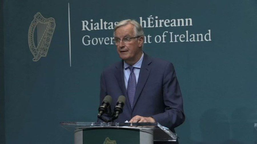 EU negotiator says 'fully behind Ireland' in any Brexit scenario