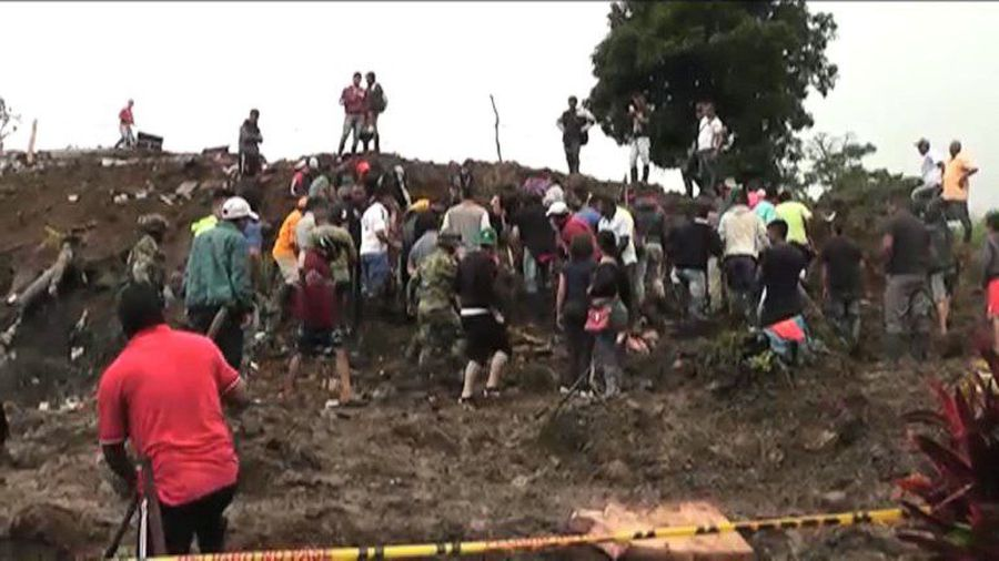 Winter rains spark deadly mudslide in Colombia