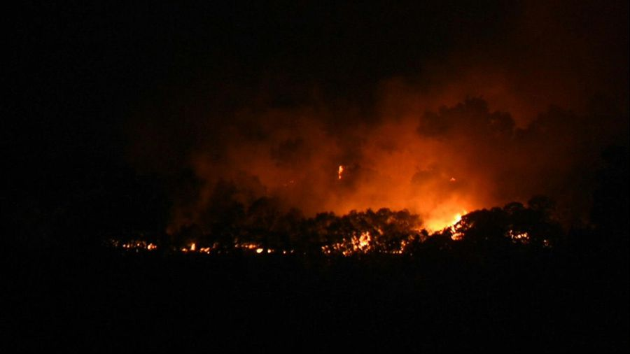 Gran Canaria hit by new blaze