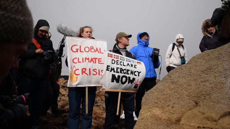 Iceland commemorates first glacier lost to climate change
