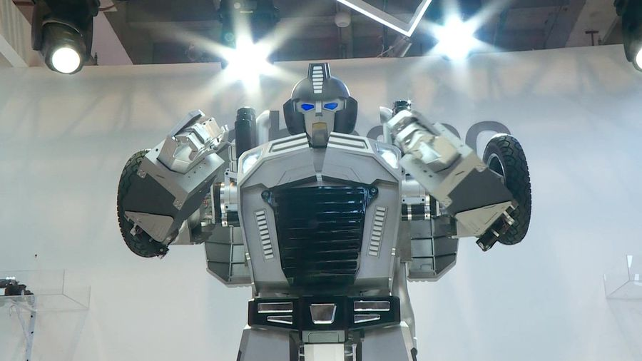 Robots rule at Beijing expo