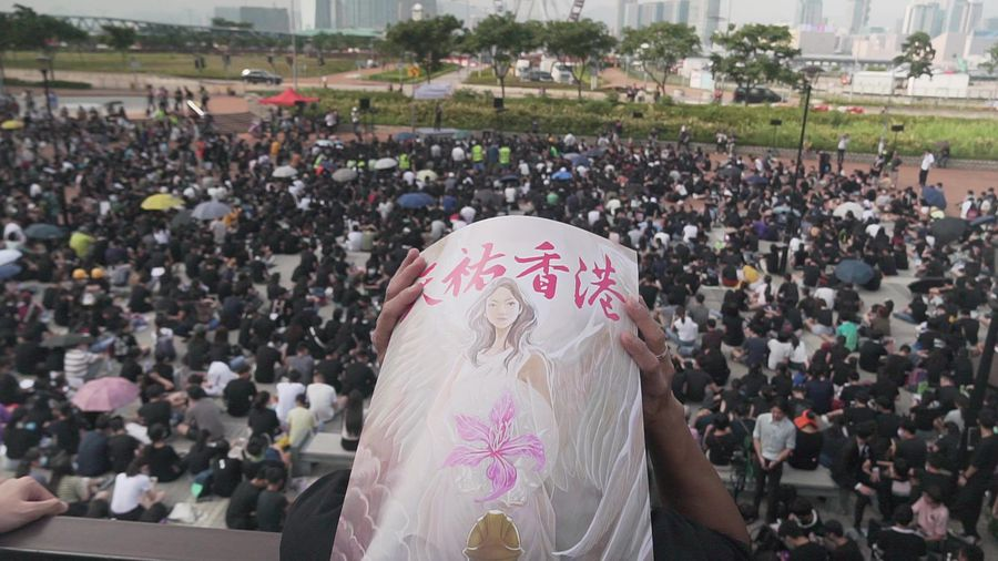 Hong Kong high schoolers pledge support for planned mass class boycott
