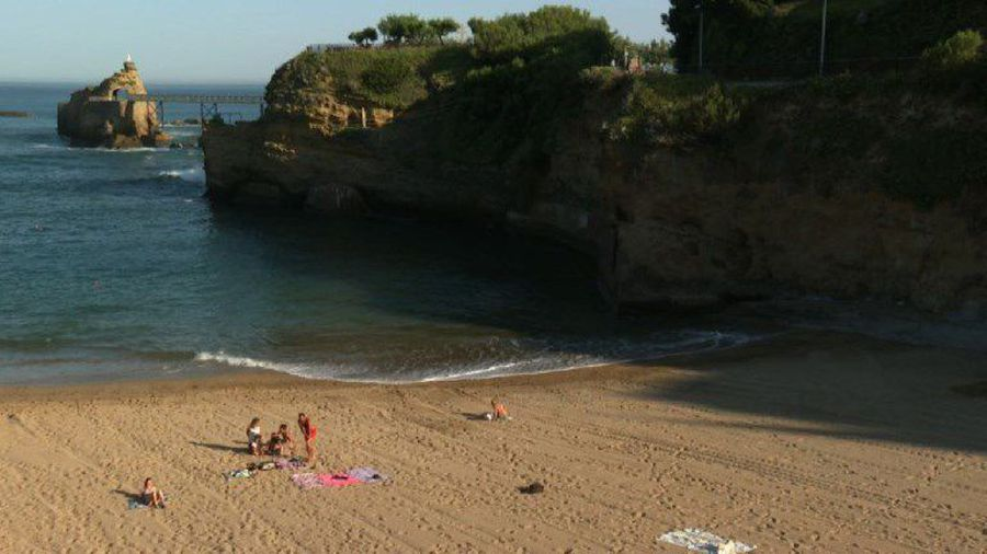 Beauty shots of Biarritz, where the G7 summit is held