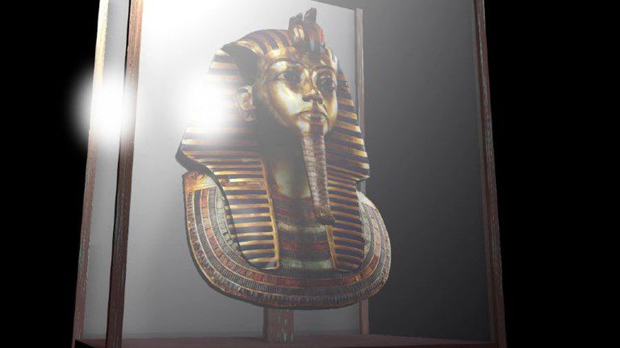 The treasure of Tutankhamun