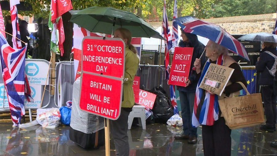 Leave and Remain voters react to new Brexit deal