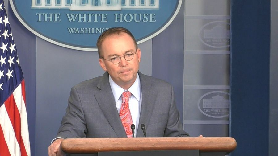 Mulvaney says withholding of Ukraine aid had 'absolutely nothing to do with Biden'