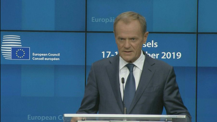 EU's Tusk says US-Turkey deal not real 'ceasefire'