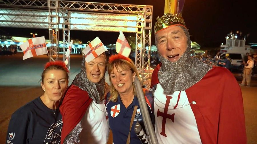 Rugby/WC 2019: Fans react after England's big win over Australia