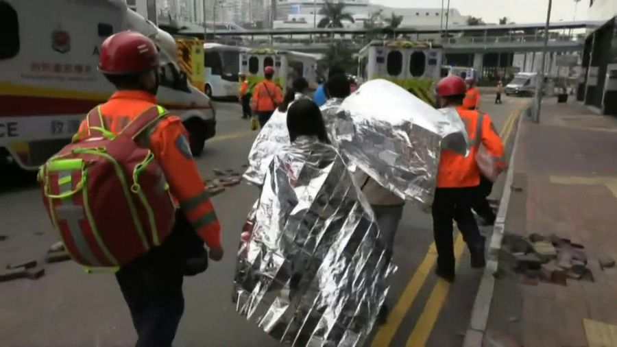 HK campus siege: some students surrender, brought out by paramedics