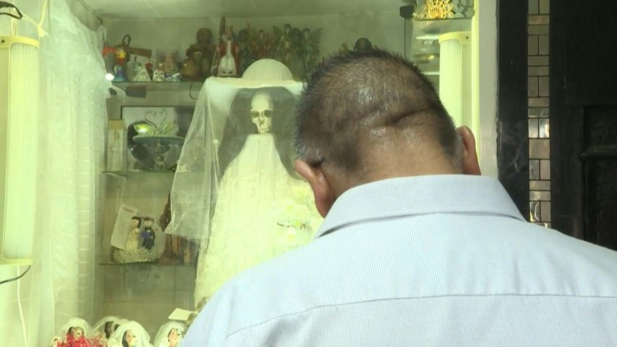 In Mexico, 'Santa Muerte' shows worshippers another side to death