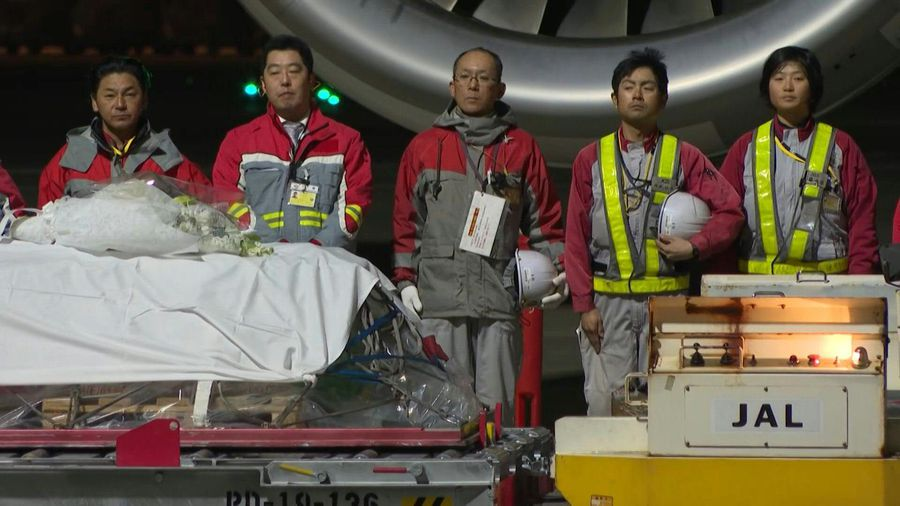 Body of slain doctor arrives in Japan after Afghan shooting