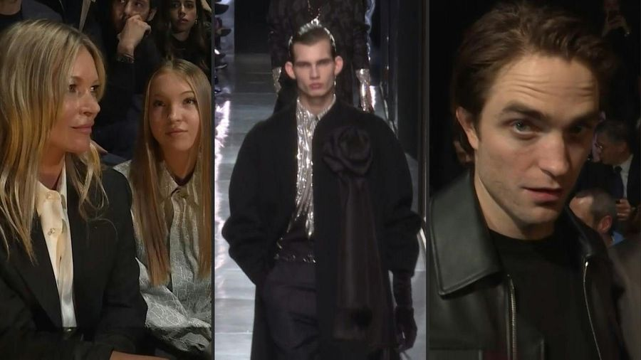 Paris Fashion Week: Beckhams and Kate Moss attend star-studded Dior men's show