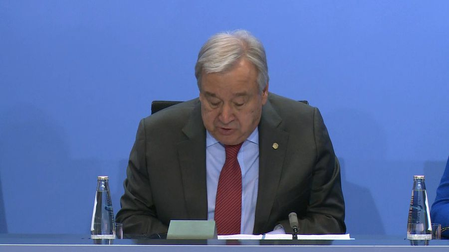 World powers commit to 'refrain from interference' in Libya: UN chief